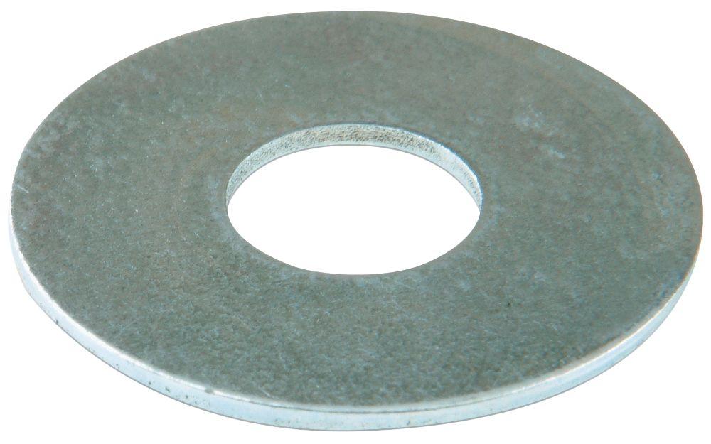 100rondelles plates larges en acier Easyfix M10 x2,5mm