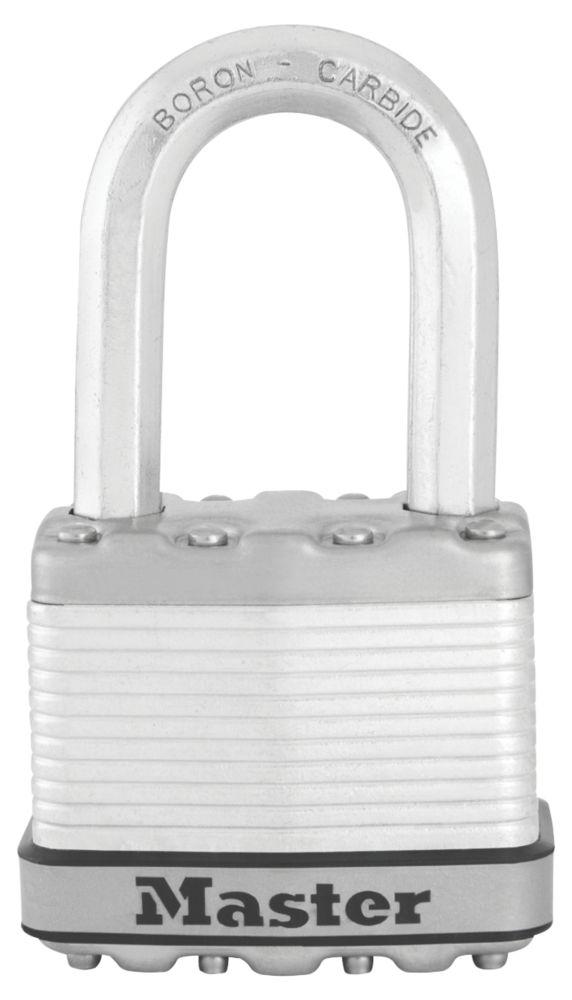 Cadenas en acier laminé résistant aux intempéries avec clés identiques Master Lock Excell 52mm