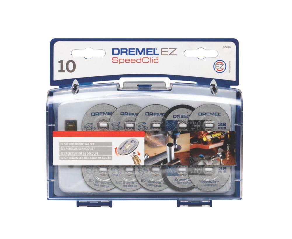 Jeu d'accessoires de coupe Dremel SC690 EZ SpeedClic 3,2mm, 10pièces