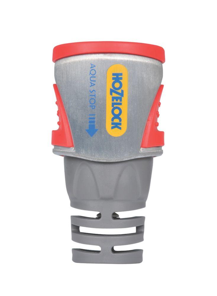 Raccord de tuyau Aquastop métallique Hozelock
