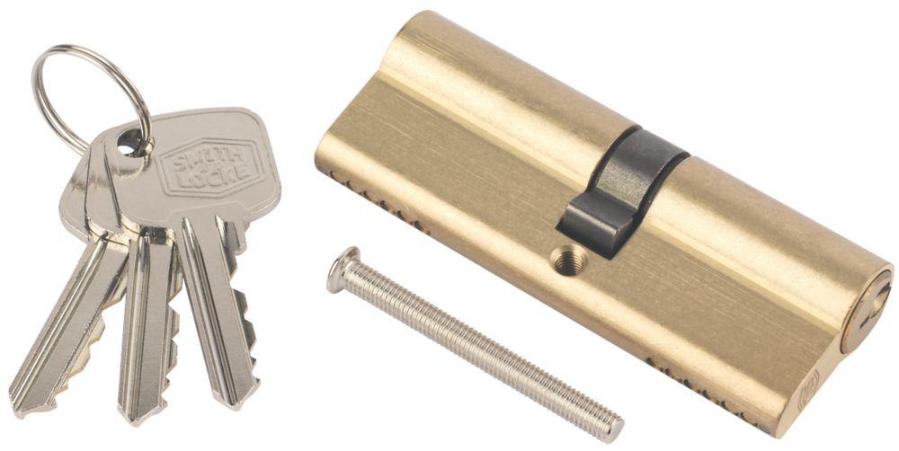 Cylindre européen à 6points Smith & Locke 35-35 (70mm) en laiton