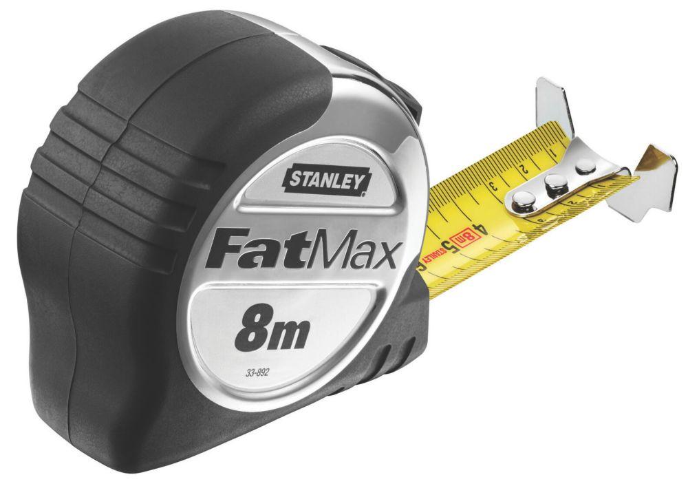 Mètre ruban 8m Stanley Fatmax