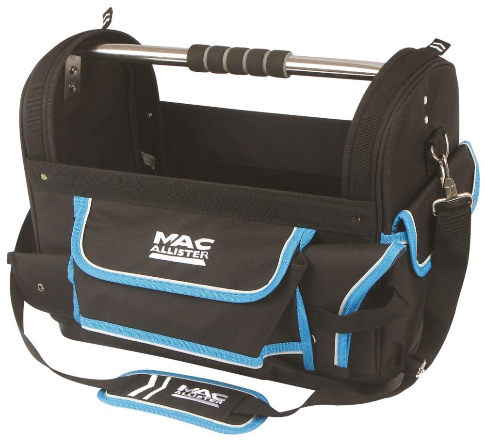 Sacoche à outils avec porte-scie Mac Allister 46cm