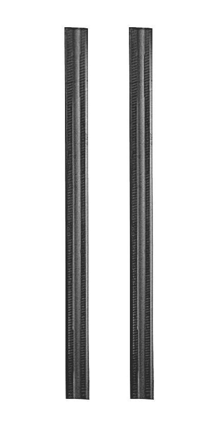 Lot de 2lames de raboteuse TCT Bosch 82mm