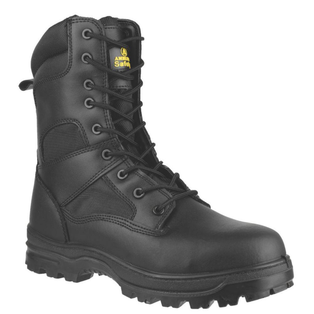Chaussures de sécurité montantes sans métal Amblers FS009C noires taille 47