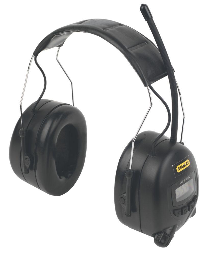 Casque antibruit avec radio AM/FM Stanley SY360 SNR31dB
