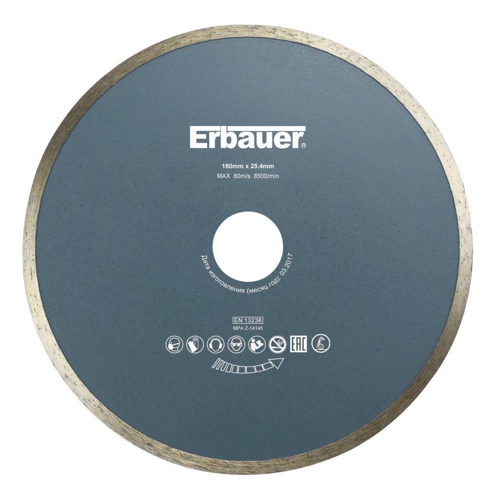 Disque diamant Erbauer 180x25,4 mm