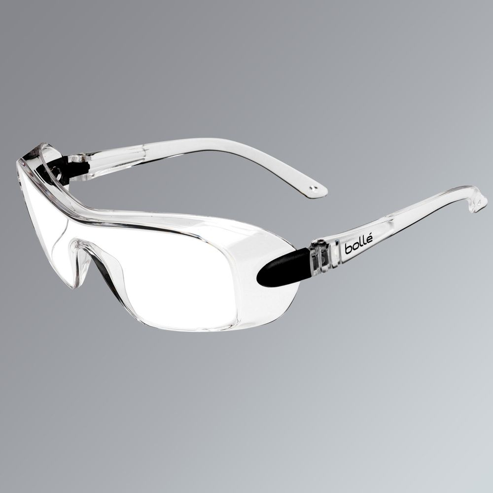 Surlunettes à verre transparent Bolle Overlight tailleL