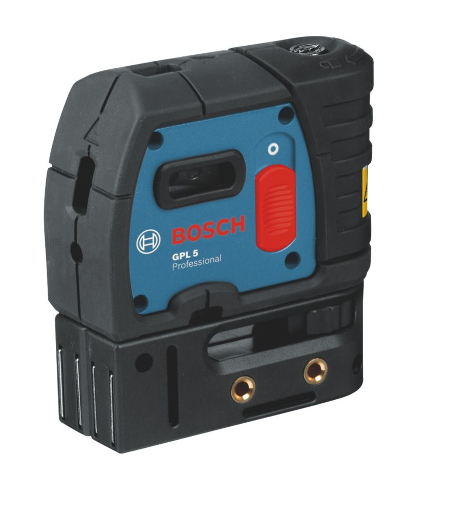 Niveau laser à point à mise à niveau automatique rouge GPL5 Bosch