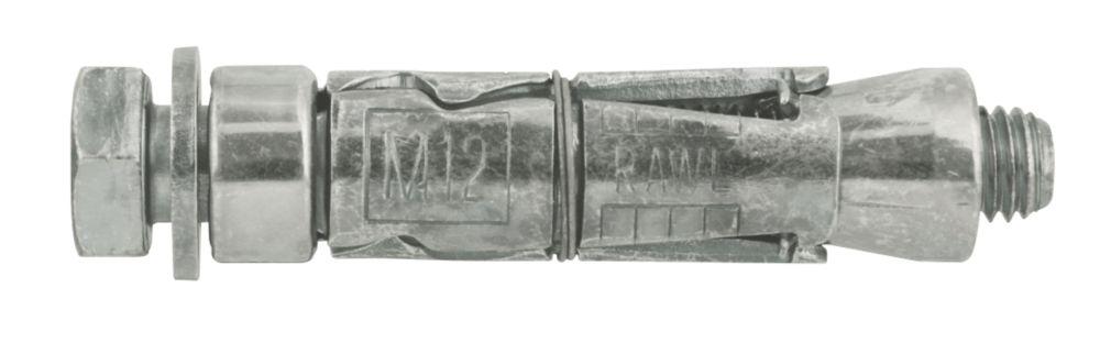 5boulons d'ancrage Rawlplug RawlBolt M12 x140mm