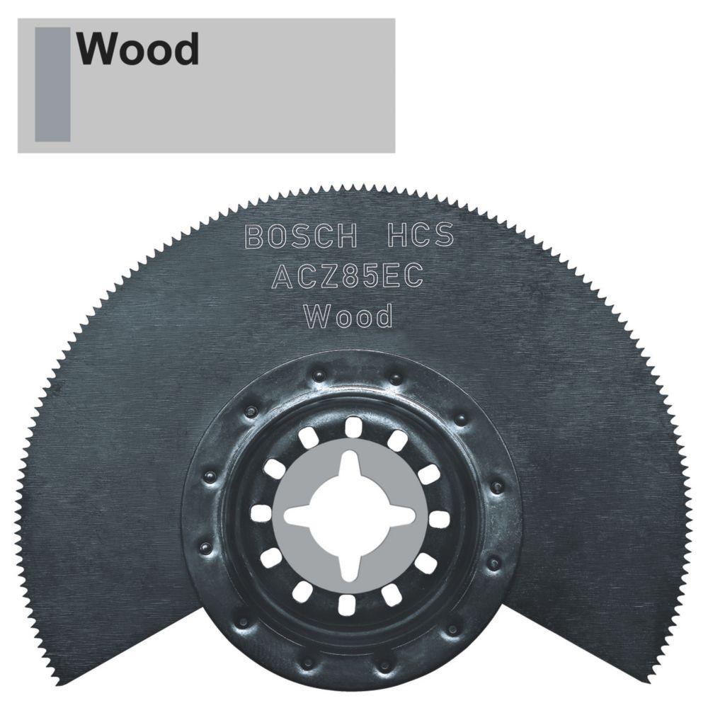 Lame de coupe segmentée pour bois/plastique Bosch 95mm