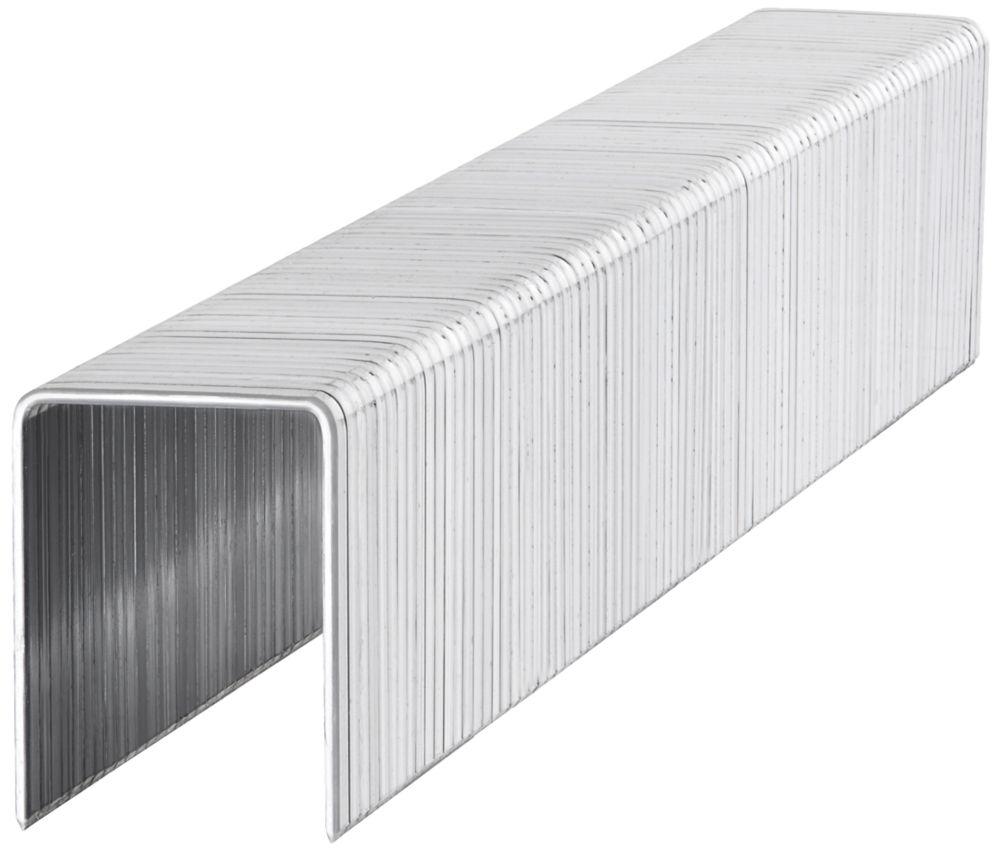 1000agrafes à usage intensif zinguées Stanley14 x10mm