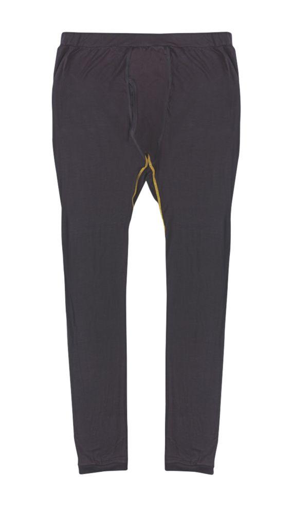 """Pantalon Site Base Layer noir tailleXL, tour de taille 42"""" et longueur de jambe 32"""""""