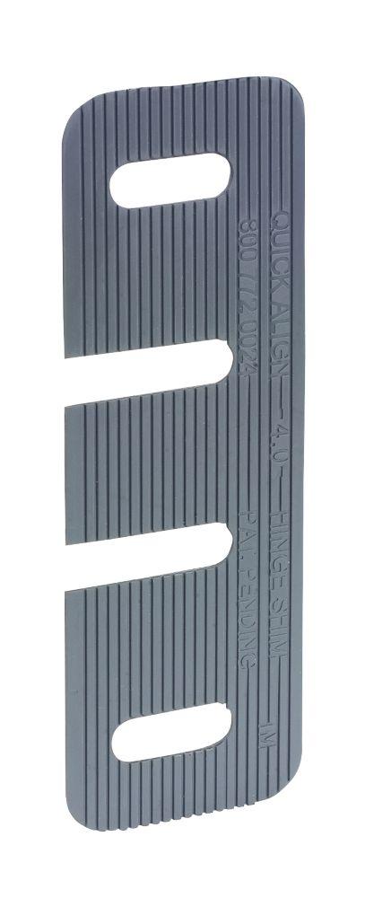 15cales de petite taille pour charnières à alignement rapide Broadfix100 x1 x35mm