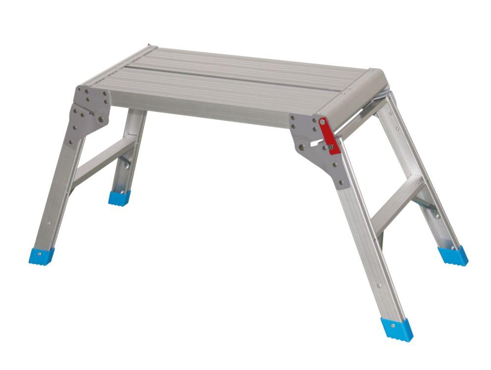 Plateforme de travail en aluminium Mac Allister 470x 600mm