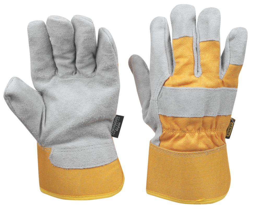 Gants de manutention d'hiver à doublure thermique Stanley gris tailleL