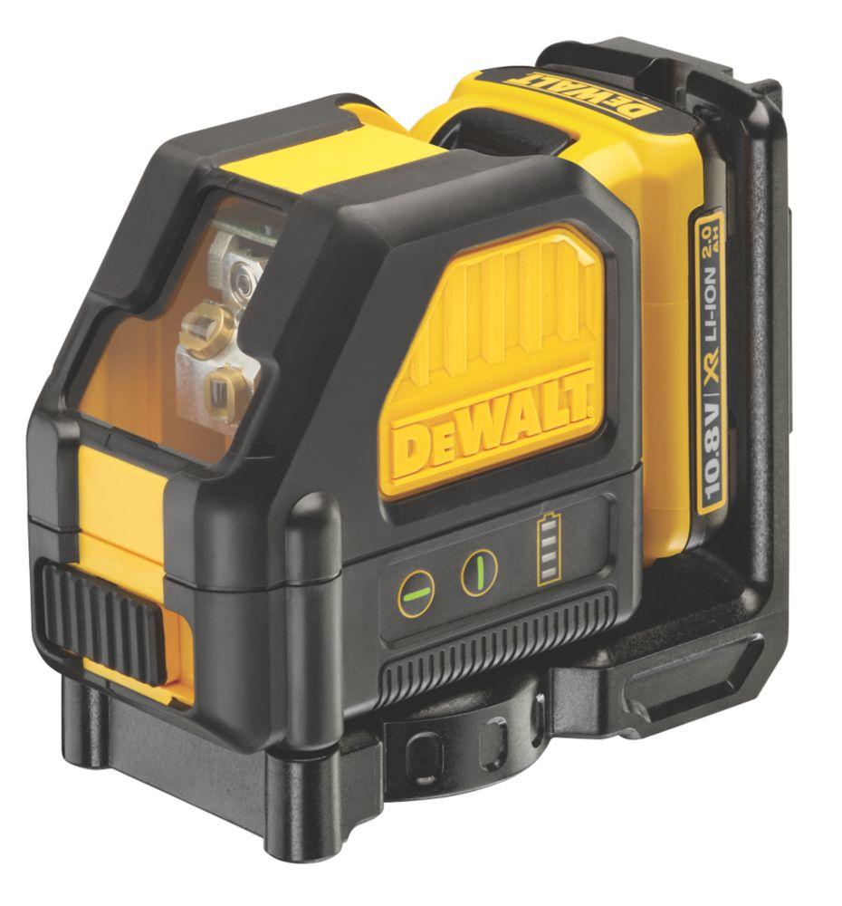 Niveau laser en croix à mise à niveau automatique vert XR Li-ion 12V 2,0Ah DCE088D1G DeWalt