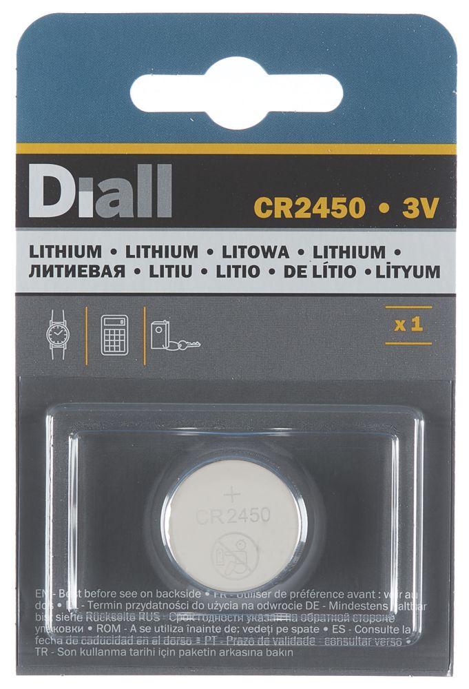Pile CR2450 Diall