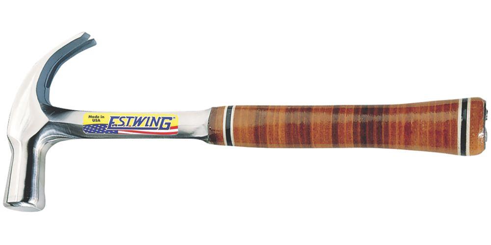 Marteau arrache-clou incurvé modèle anglais Estwing 24oz (0,68kg)
