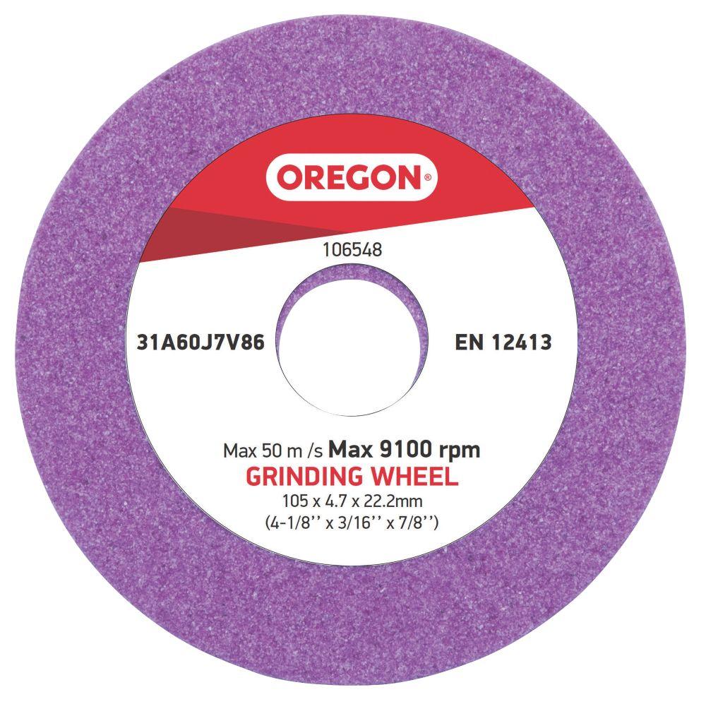 Meule de rechange Oregon 105mm x22,2mm x4,7mm