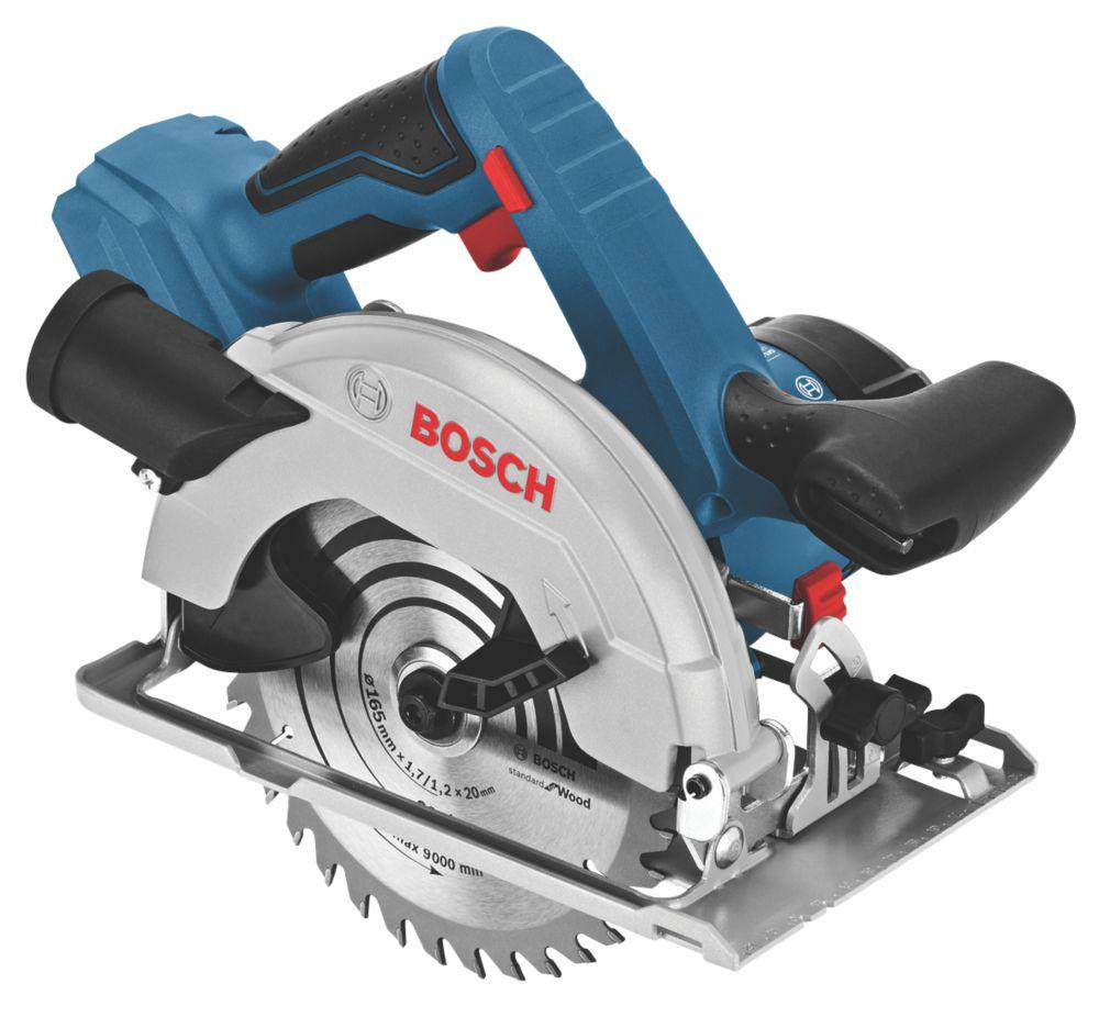 Scie circulaire sans fil Bosch GKS18V-57 164mm 18V Li-ion CoolPack- Sans batterie