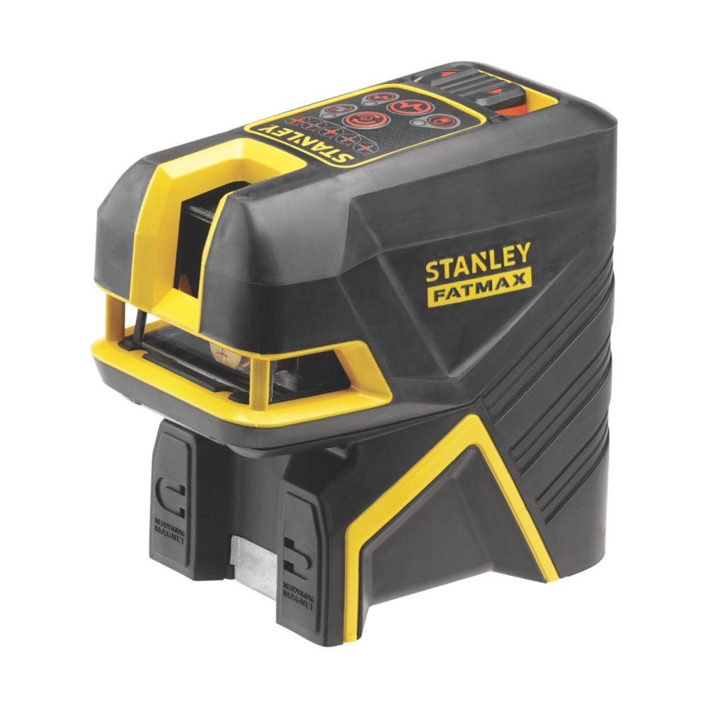 Niveau laser en croix et à points 5faisceaux rouges Stanley FatMax FMHT1-77415