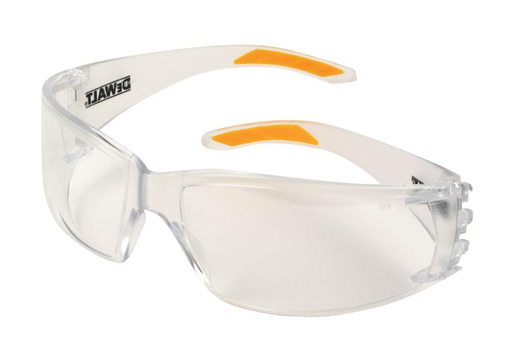Lunettes de protection à verre transparent DeWalt Protector Pro