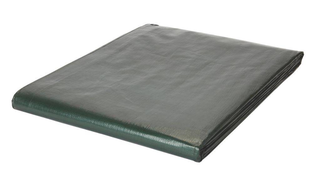 Bâche verte /marron4 x5m
