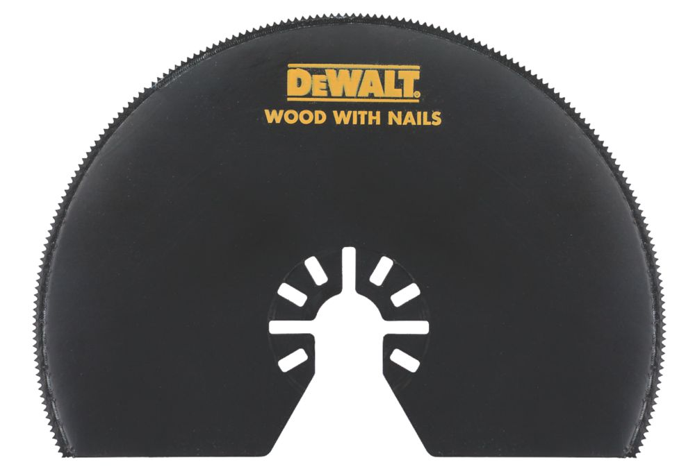 Lame de coupe segmentée pour bois/métal/plastique DeWalt 103mm