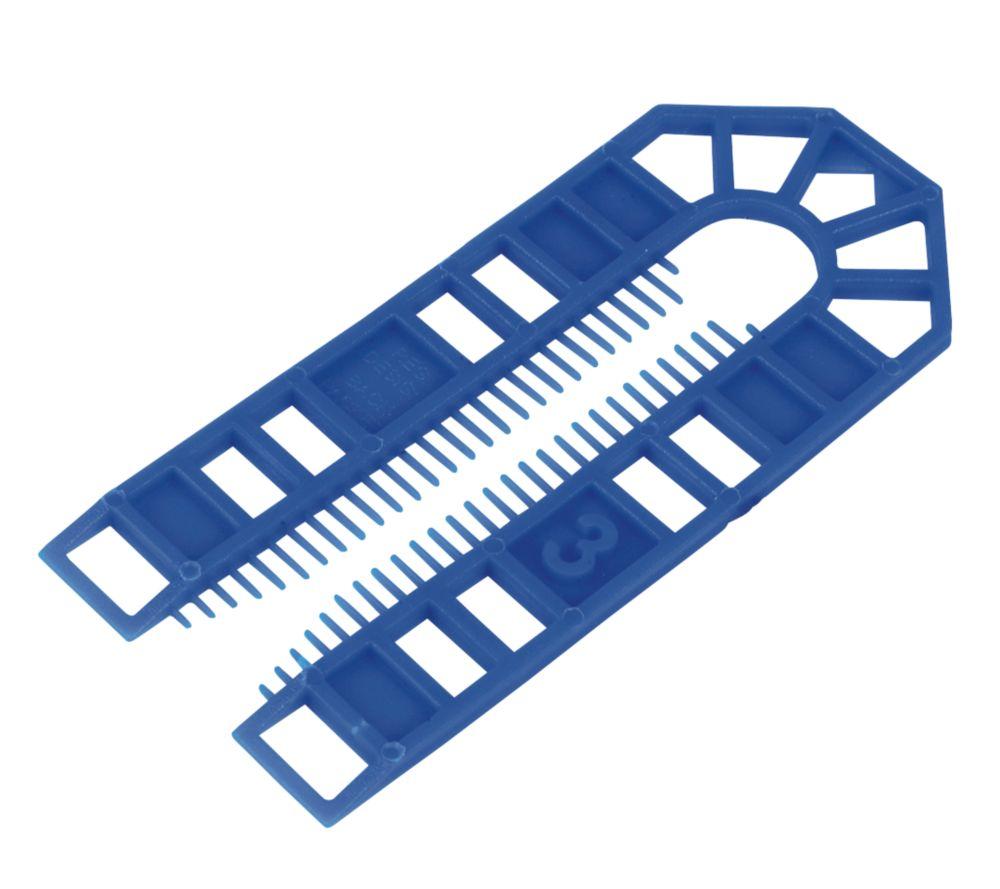 200cales en plastique de grande taille Broadfix101 x3 x43mm