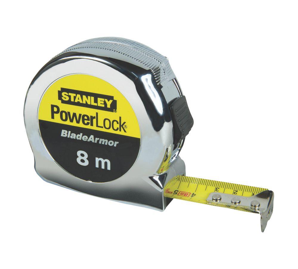 Mètre ruban Stanley Powerlock 8m