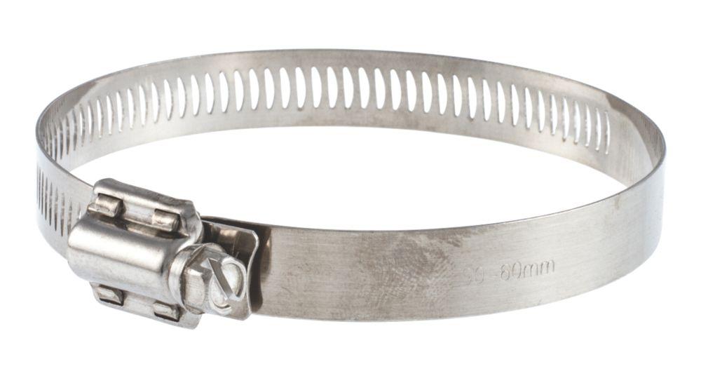 10colliers de serrage à vis sans fin en acier inoxydable T-mex 20-50mm