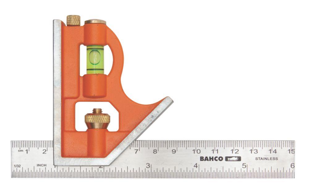 """Équerre combinée Bahco 6"""" (150mm)"""