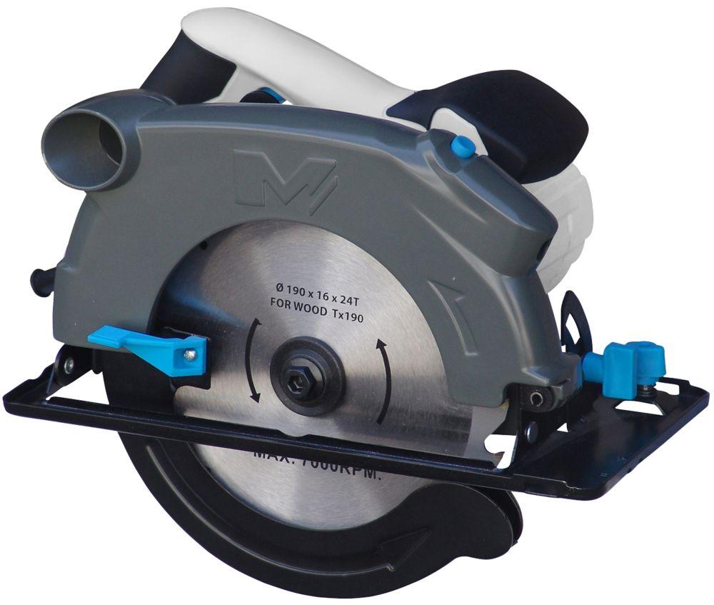 Scie circulaire MacAllister MSCS1500 66 mm