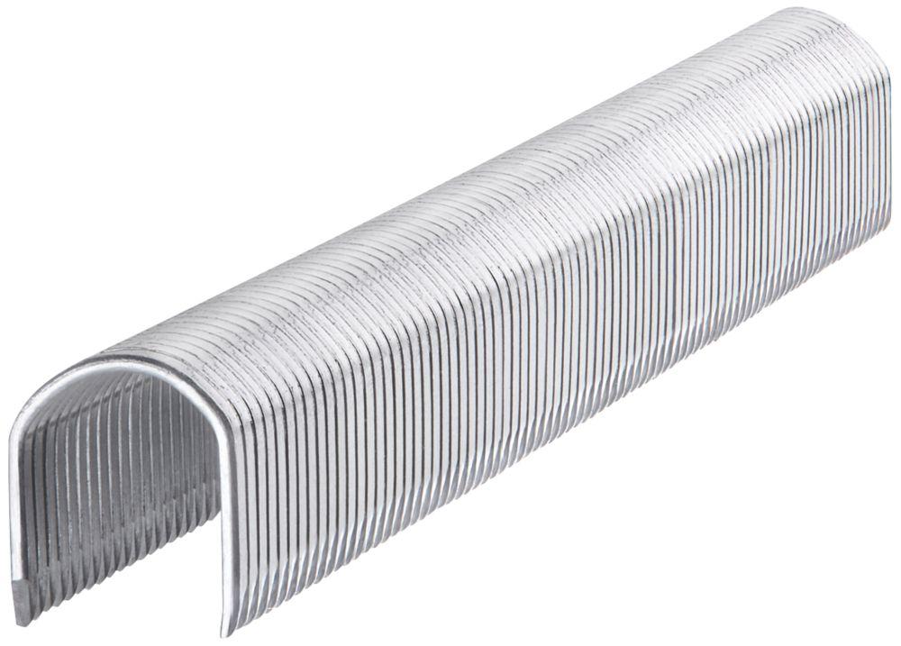 1000agrafes rondes brillantes Stanley10 x10mm