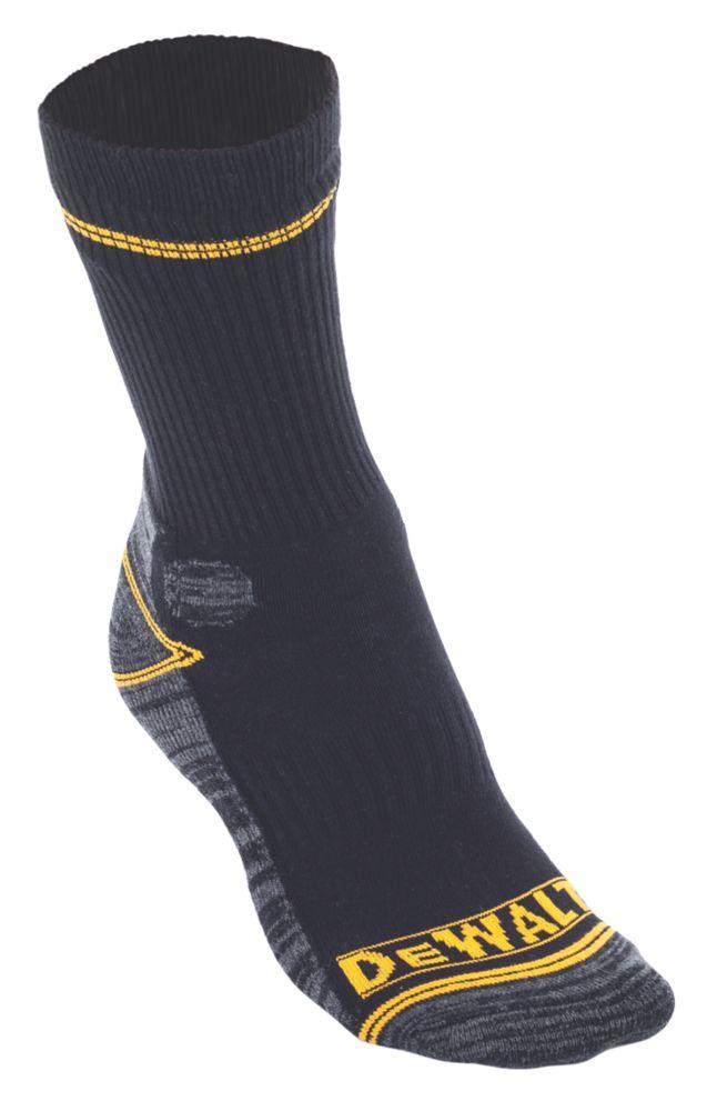Chaussettes de travail Comfort noir/gris/jaune taille 41-47