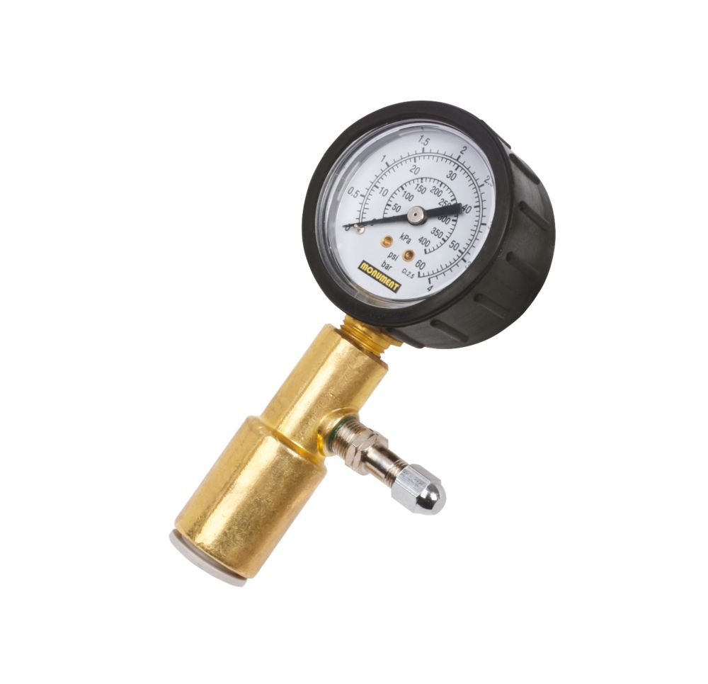 Kit de test de pression à sec Monument Tools 4bar