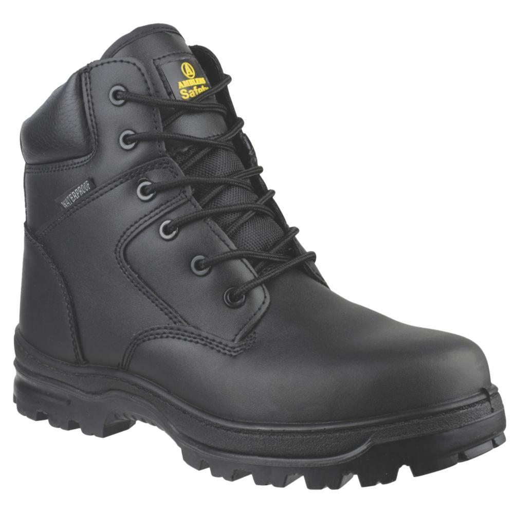 Chaussures de sécurité montantes sans métal Amblers FS006C noires taille 46