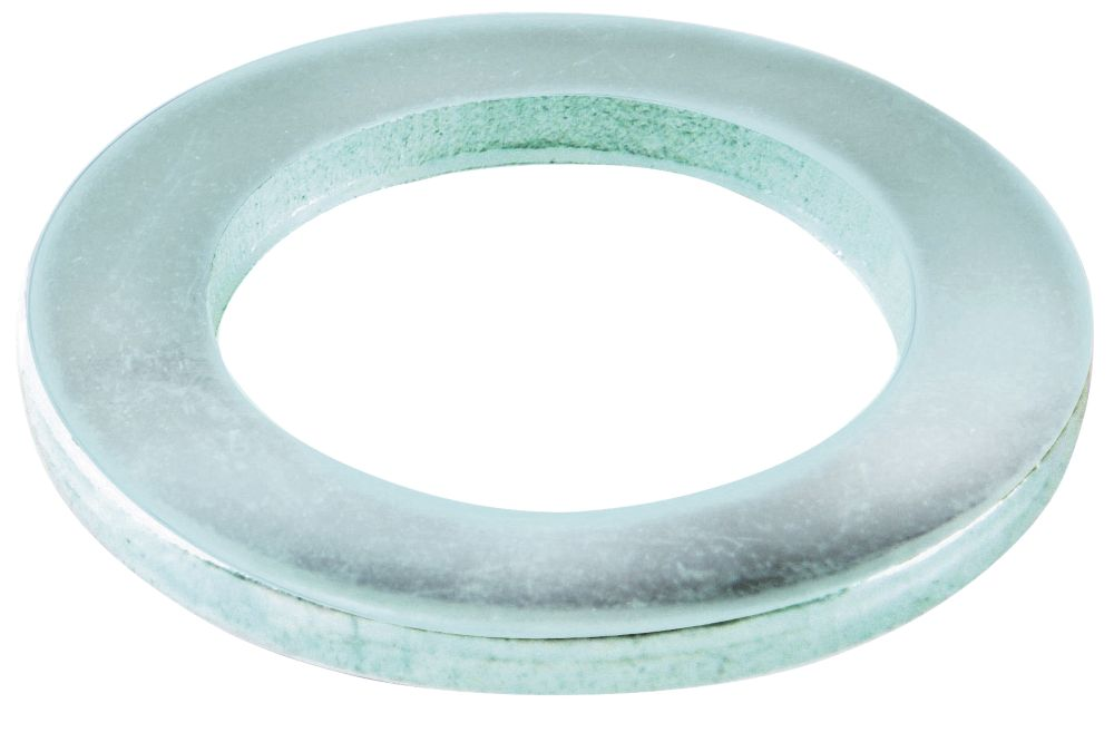 100rondelles plates en acier Easyfix M8 x1,6mm