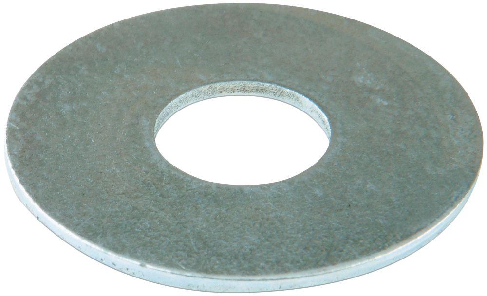 100rondelles plates larges en acier Easyfix M8 x2mm