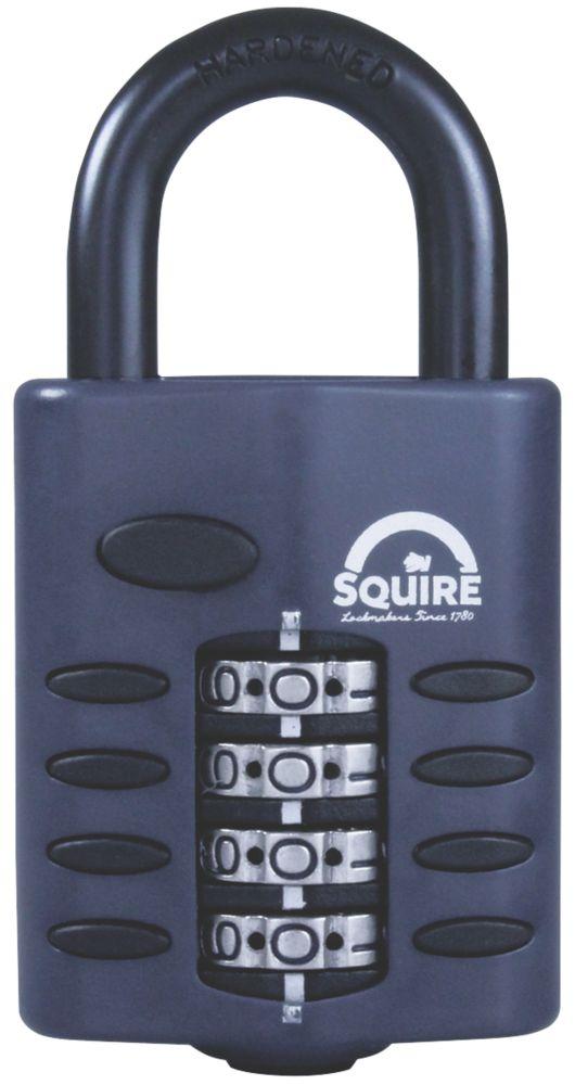 Cadenas à combinaison en acier résistant aux intempéries Squire 50mm