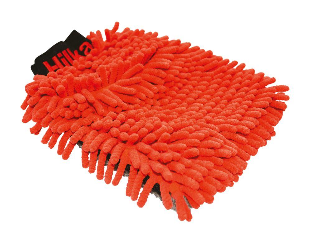 Gant de lavage chenillé 2-en-1 en polyester et nylon Hilka Pro-Craft