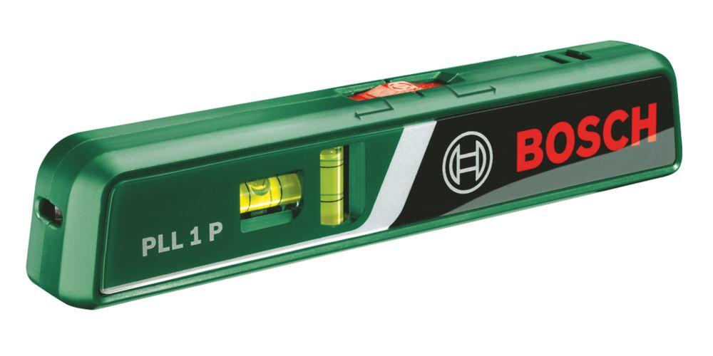 Niveau laser en croix automatique rouge PLL1P Bosch