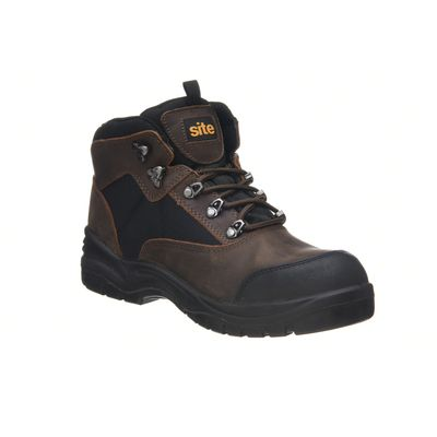 Chaussures de sécurité hautes Onyx imperméables marron Site taille 40