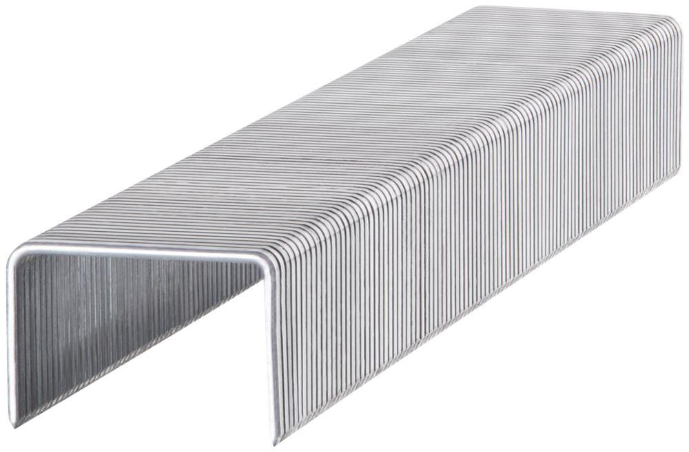 1000agrafes à usage peu intensif brillantes Stanley8 x10mm