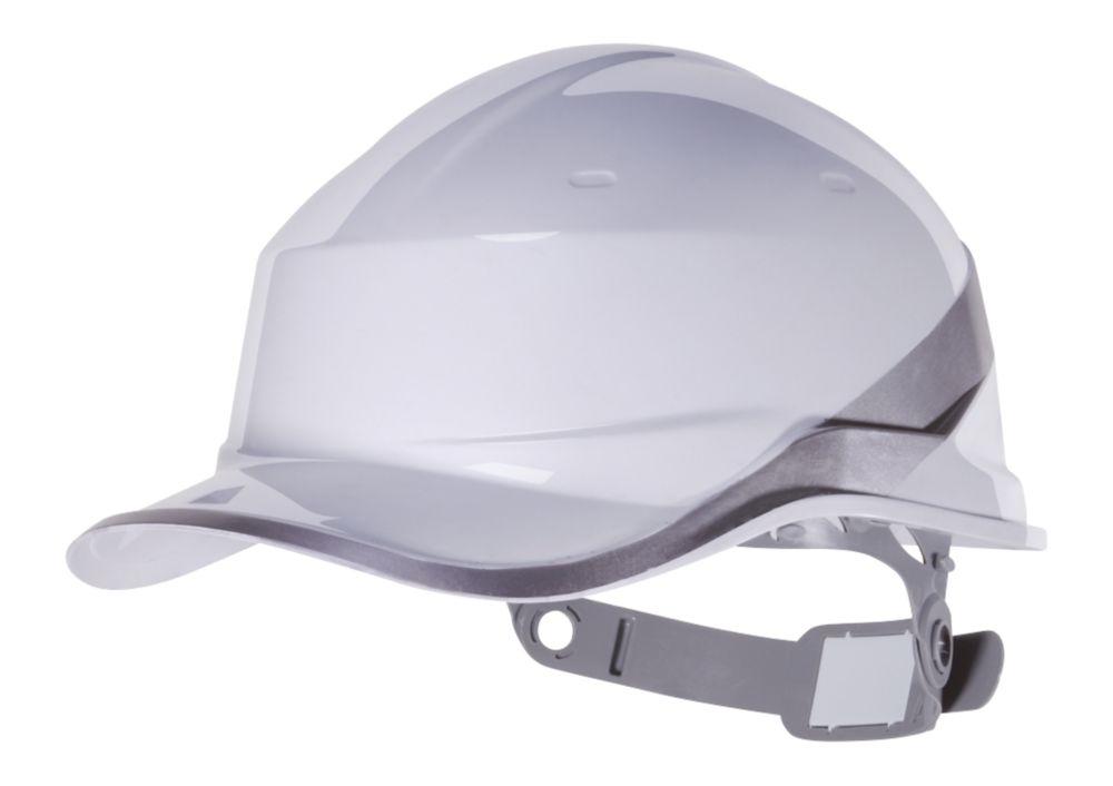 Casque de sécurité réversible Delta Plus DiamondV blanc