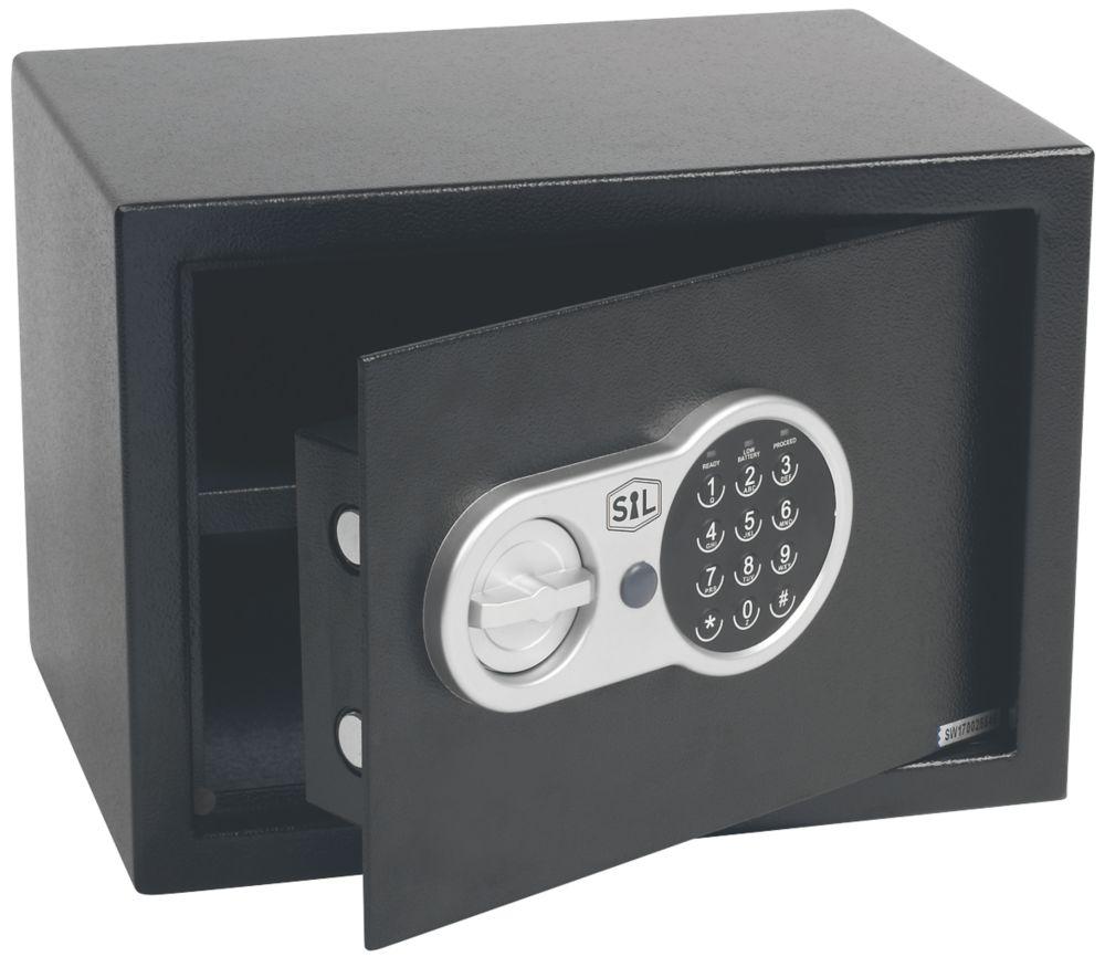 Coffre-fort à combinaison électronique Smith & Locke 25ET2040 16L