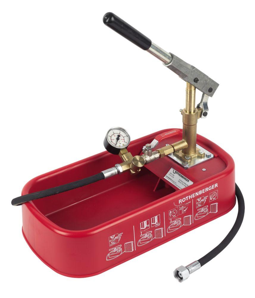 Pompe de test de pression Rothenberger RP30 30bar