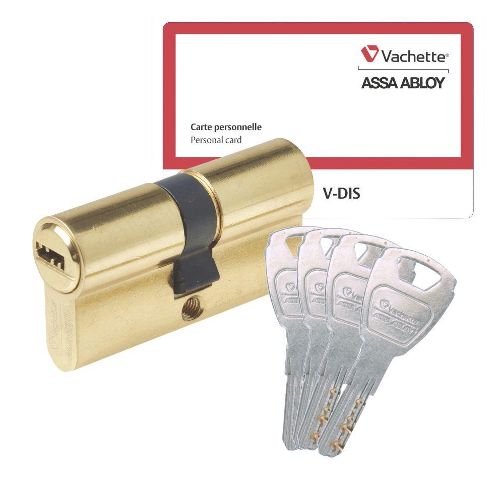 Cylindre de sécurité Vachette 30 x 30 mm