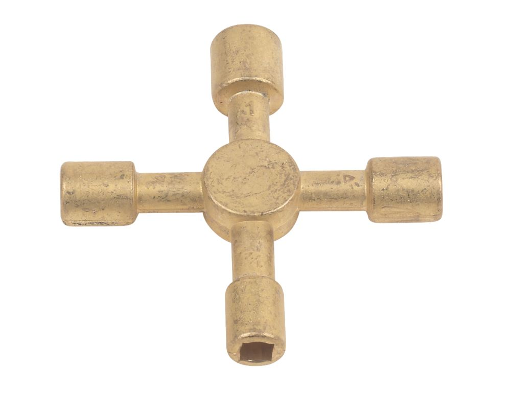 Clé utilitaire et radiateur en croix Rothenberger
